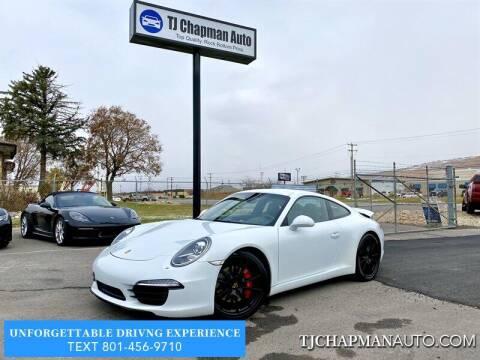 2015 Porsche 911 for sale at TJ Chapman Auto in Salt Lake City UT