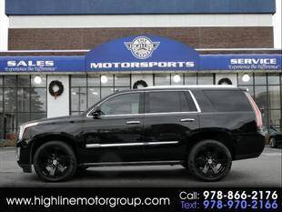 2015 Cadillac Escalade for sale at Highline Group Motorsports in Lowell MA