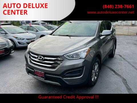 2014 Hyundai Santa Fe Sport for sale at AUTO DELUXE CENTER in Toms River NJ