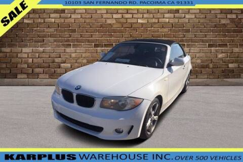 2013 BMW 1 Series for sale at Karplus Warehouse in Pacoima CA