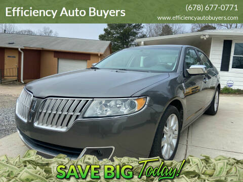 2010 Lincoln MKZ for sale at Efficiency Auto Buyers in Milton GA