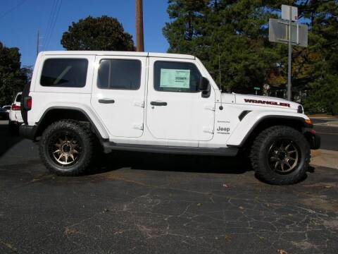 2018 Jeep Wrangler Unlimited for sale at South Atlanta Motorsports in Mcdonough GA