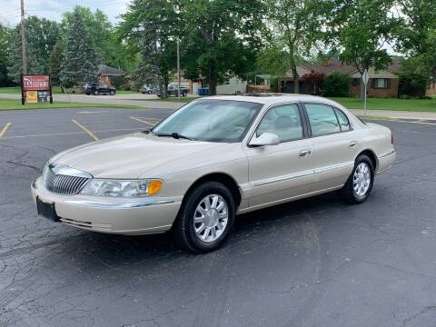2002 Lincoln Continental for sale at Dittmar Auto Dealer LLC in Dayton OH