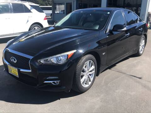 2016 Infiniti Q50 for sale at HARE CREEK AUTOMOTIVE in Fort Bragg CA
