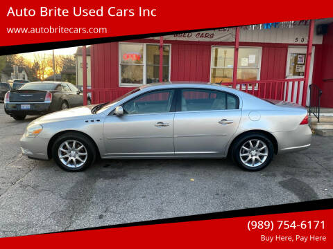 2008 Buick Lucerne for sale at Auto Brite Used Cars Inc in Saginaw MI