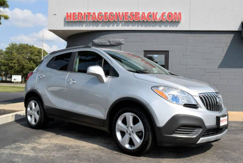 2016 Buick Encore for sale at Heritage Automotive Sales in Columbus in Columbus IN