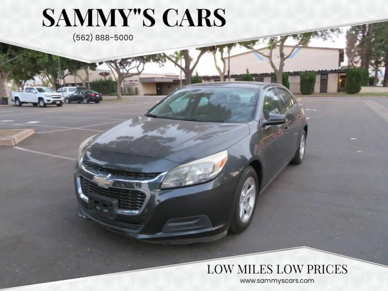 "2015 Chevrolet Malibu for sale at SAMMY""S CARS in Bellflower CA"