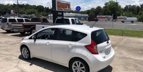 2014 Nissan Versa Note for sale at Moye's Auto Sales Inc. in Leesburg FL