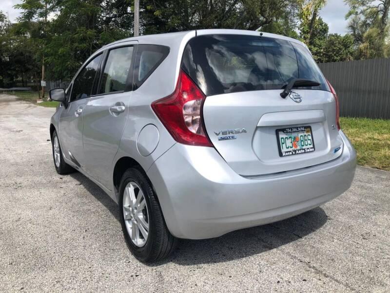 2015 Nissan Versa Note SV 4dr Hatchback - Miami FL