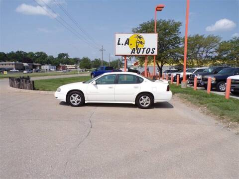 2004 Chevrolet Impala for sale at L A AUTOS in Omaha NE