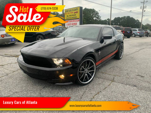 2011 Ford Mustang for sale at Luxury Cars of Atlanta in Snellville GA