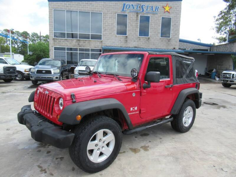 2008 Jeep Wrangler for sale at Lone Star Auto Center in Spring TX