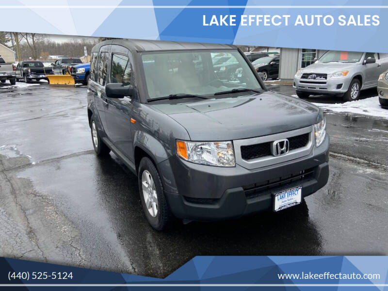 2010 Honda Element for sale at Lake Effect Auto Sales in Chardon OH