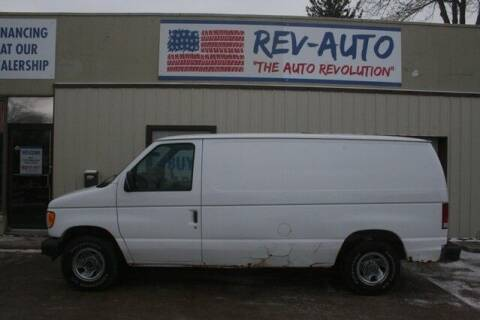 2001 Ford E-Series Cargo for sale at Rev Auto in Clarion IA