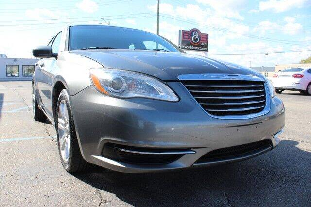 2012 Chrysler 200 for sale at B & B Car Co Inc. in Clinton Twp MI