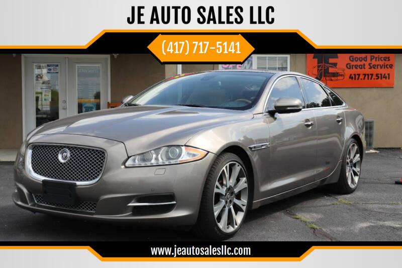 2011 Jaguar XJ for sale at JE AUTO SALES LLC in Webb City MO