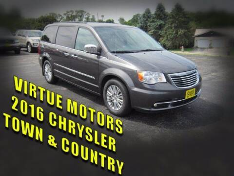 2016 Chrysler Town and Country for sale at Virtue Motors Used in Darlington WI