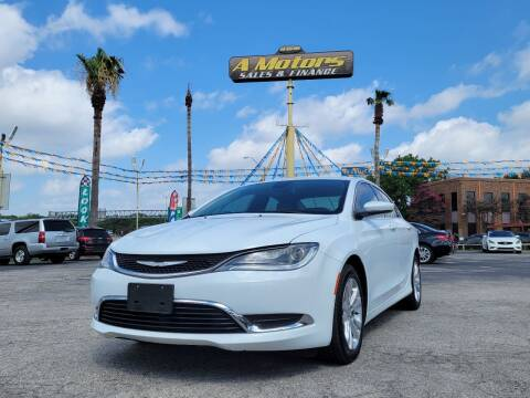2016 Chrysler 200 for sale at A MOTORS SALES AND FINANCE - 6226 San Pedro Lot in San Antonio TX