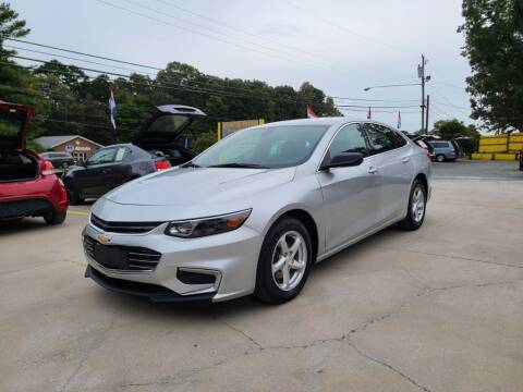 2017 Chevrolet Malibu for sale at DADA AUTO INC in Monroe NC