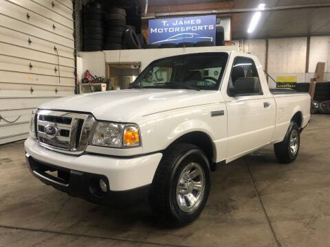 2010 Ford Ranger for sale at T James Motorsports in Gibsonia PA