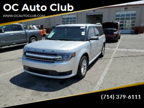 2017 Ford Flex for sale at OC Auto Club in Midway City CA
