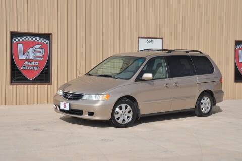 2002 Honda Odyssey for sale at V12 Auto Group in Lubbock TX