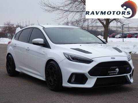 2017 Ford Focus for sale at RAVMOTORS in Burnsville MN