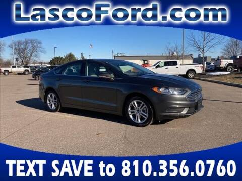 2018 Ford Fusion for sale at Lasco of Grand Blanc in Grand Blanc MI