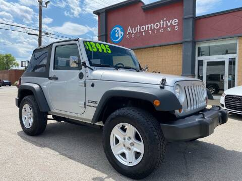 2010 Jeep Wrangler for sale at Automotive Solutions in Louisville KY