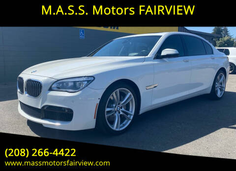 2015 BMW 7 Series for sale at M.A.S.S. Motors - Fairview in Boise ID