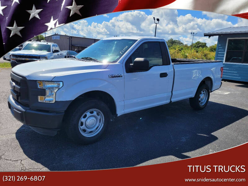 2016 Ford F-150 for sale at Titus Trucks in Titusville FL