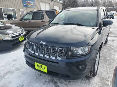 2014 Jeep Compass for sale at Jeff's Sales & Service in Presque Isle ME