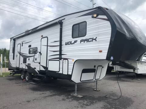 2014 Cherokee by Forest River Wolf Pack 301WP for sale at MCCROSKEY AUTO & RV in Bluff City TN