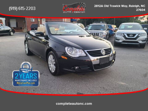 2010 Volkswagen Eos for sale at Complete Auto Center , Inc in Raleigh NC