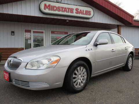 2007 Buick Lucerne for sale at Midstate Sales in Foley MN