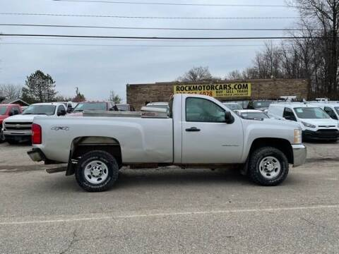2010 Chevrolet Silverado 2500HD for sale at ROCK MOTORCARS LLC in Boston Heights OH