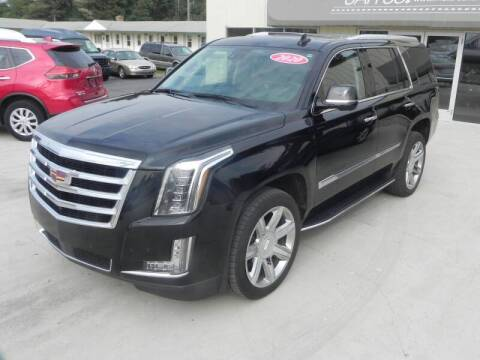 2020 Cadillac Escalade for sale at Thompson Car Company in Bad Axe MI