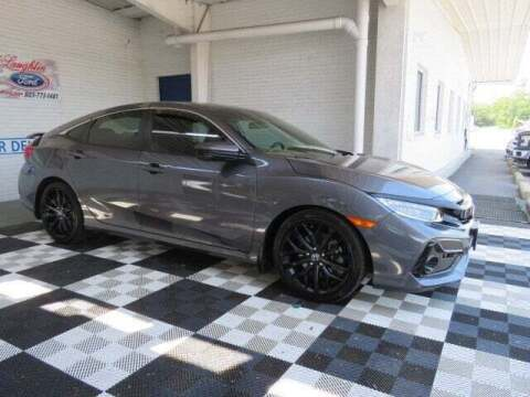 2020 Honda Civic for sale at McLaughlin Ford in Sumter SC