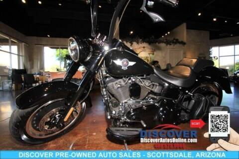 2017 Harley-Davidson FLSTFBS Fat Boy S Cruiser for sale at Discover Pre-Owned Auto Sales in Scottsdale AZ