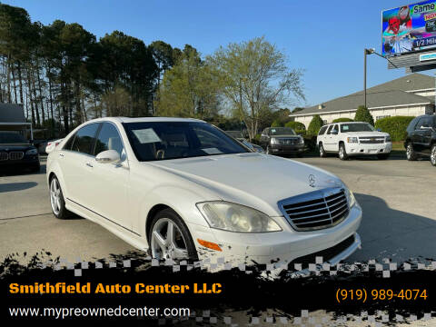 2009 Mercedes-Benz S-Class for sale at Smithfield Auto Center LLC in Smithfield NC