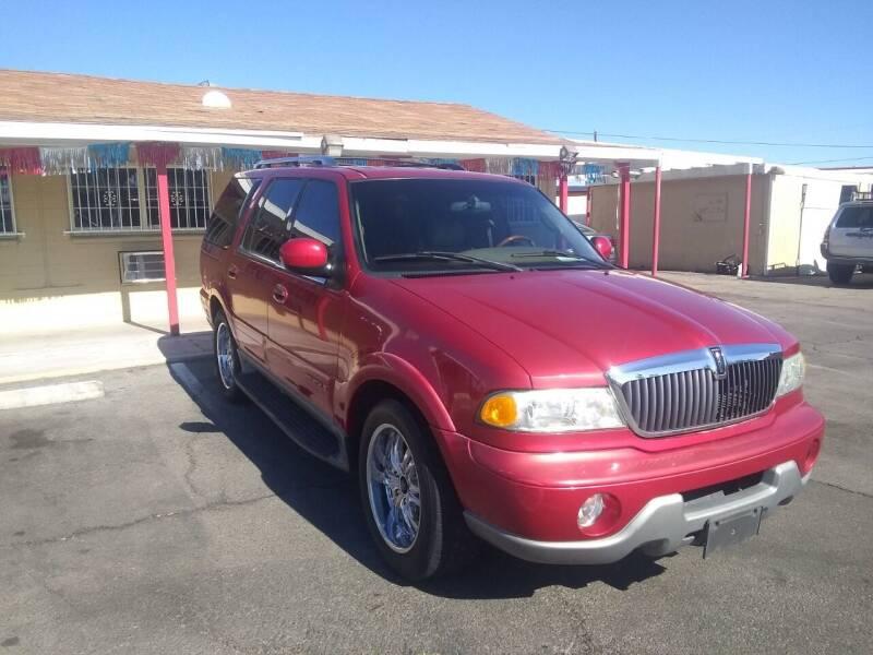 2002 Lincoln Navigator for sale at Car Spot in Las Vegas NV