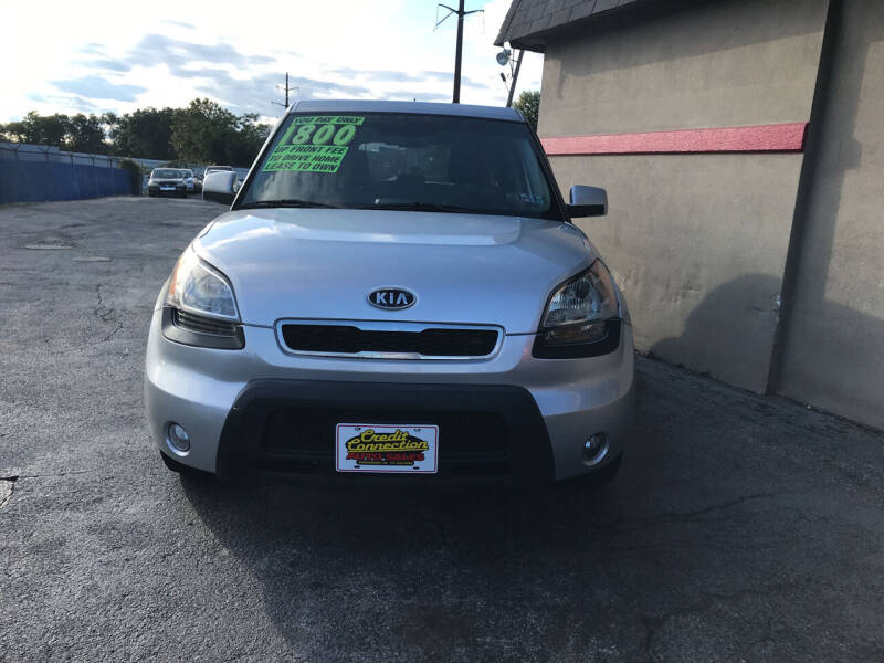2011 Kia Soul for sale at Credit Connection Auto Sales Inc. HARRISBURG in Harrisburg PA