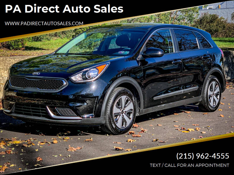 2018 Kia Niro for sale at PA Direct Auto Sales in Levittown PA