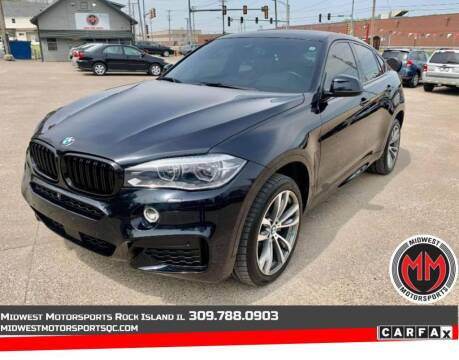 2016 BMW X6 for sale at MIDWEST MOTORSPORTS in Rock Island IL