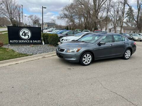 2010 Honda Accord for sale at Station 45 Auto Sales Inc in Allendale MI