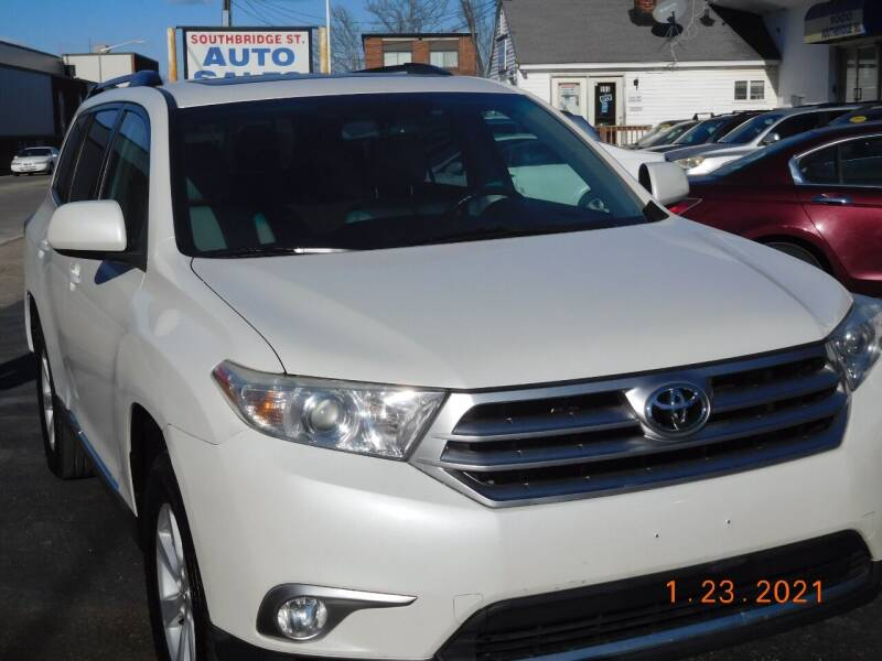 2012 Toyota Highlander for sale at Southbridge Street Auto Sales in Worcester MA