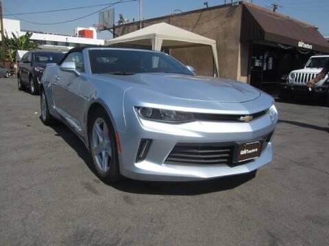 2018 Chevrolet Camaro for sale at Win Motors Inc. in Los Angeles CA