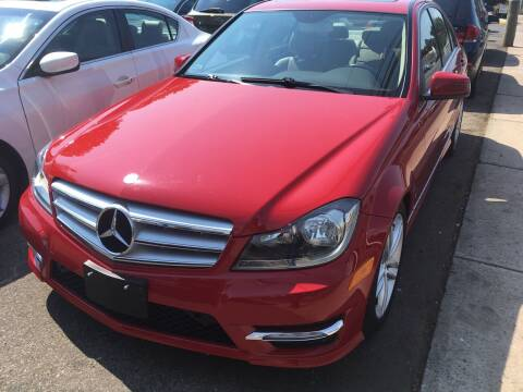 2013 Mercedes-Benz C-Class for sale at MELILLO MOTORS INC in North Haven CT