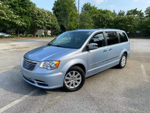 2012 Chrysler Town and Country for sale at Uniworld Auto Sales LLC. in Greensboro NC