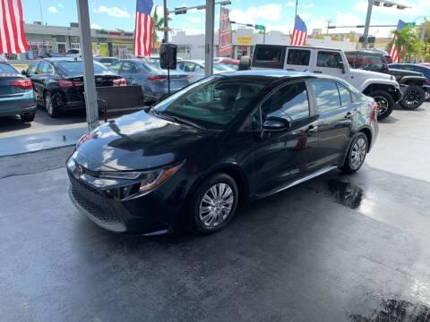 2020 Toyota Corolla for sale at American Auto Sales in Hialeah FL